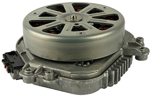 Johnson Electric 850W Cooling Fan BLDC Motor & ECU for Mercedes GLE 450 4matic (A 167 906 18 04)
