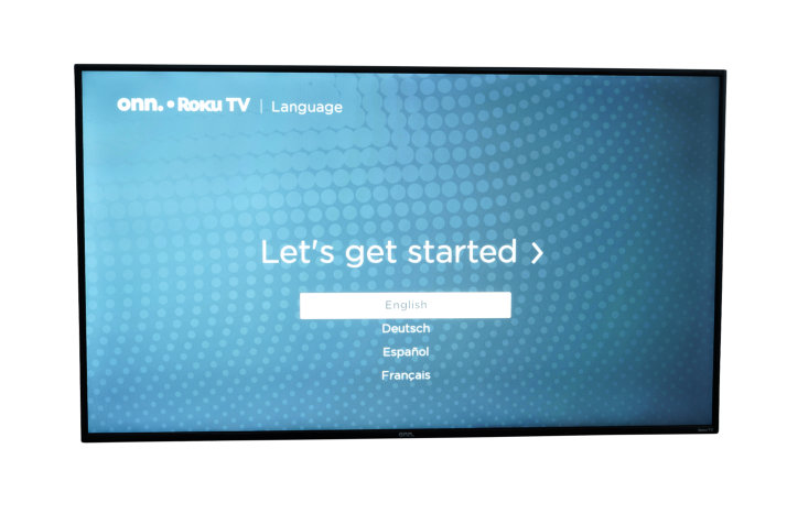 "Walmart onn. 55"" Class 4K UHD (2160P) LED Roku Smart TV HDR"
