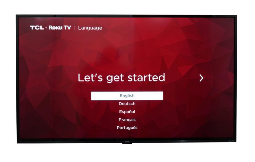 """TCL 43"""" 4K UHD HDR LED Smart Roku TV"""