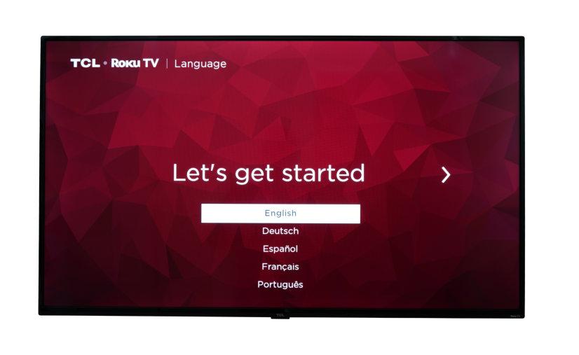 """TCL 50"""" 4K UHD HDR LED Smart Roku TV"""