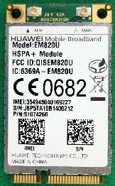 Huawei EM820U